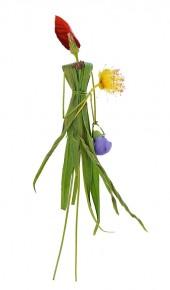 Collection 2 - Dame aux fleurs